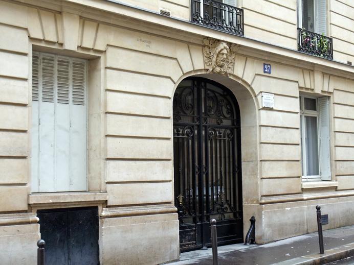 Gertrude Stein\'s apartment, 27 rue de Fleurus