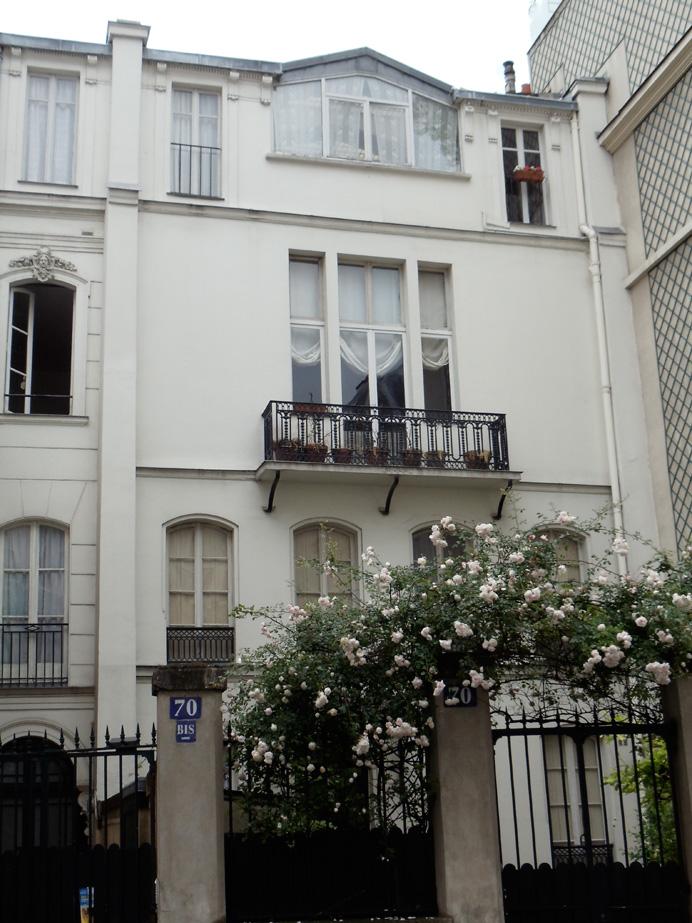 Pound\'s studio, 70 bis rue Notre-Dame-des-Champs