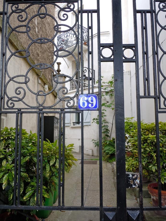 Gerald Murphy\'s studio, 69 rue Froidevaux