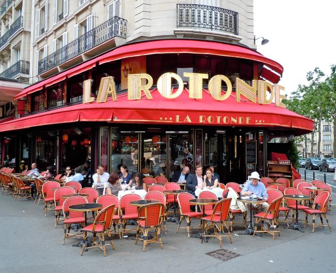 Montparnasse Cafés—La Rotonde