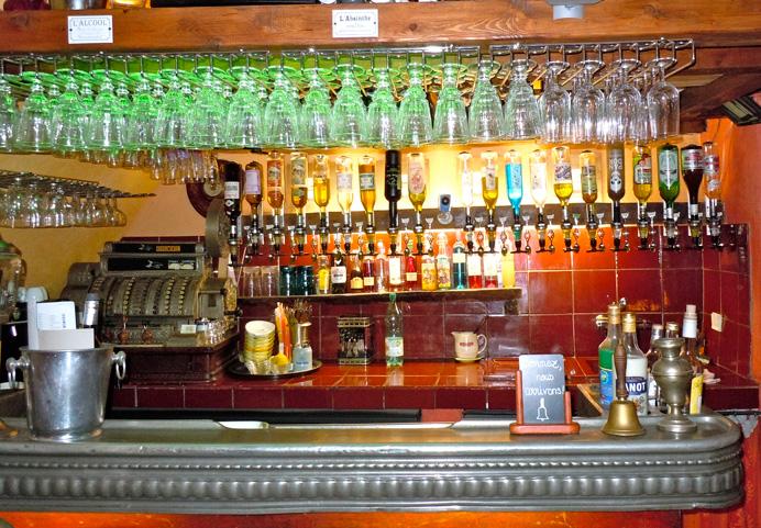Absinthe bar, Antibes