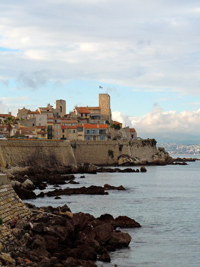 Outer fortress walls, Antibes, France